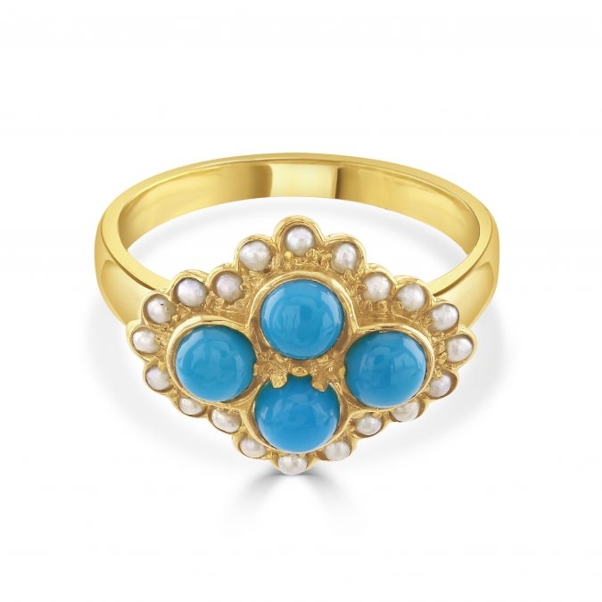 Coral and Turquoise at The Northcote Jeweller